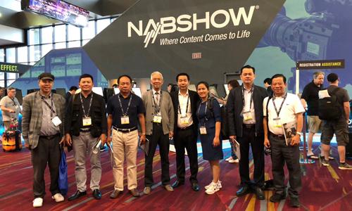 Hiệp hội quảng cáo Việt Nam tham dự Triển lãm Quốc tế NAB...