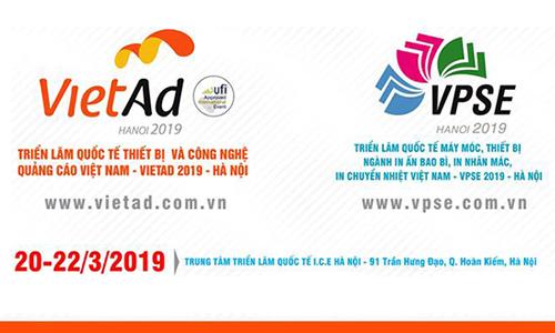 Thư mời hội viên VAA đến tham quan Triển lãm VietAd và VPSE 2019...