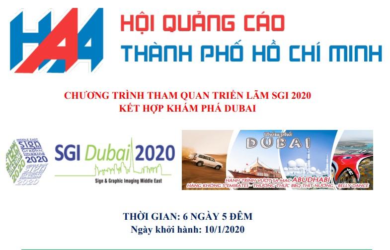 Thư mời hội viên VAA tham dự chương trình tham quan Dubai, kết...