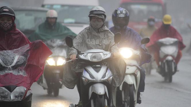 Không khí lạnh tăng cường ở Bắc Bộ