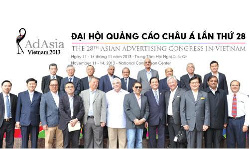 Hơn 300 đại biểu quốc tế đăng kí tham dự Đại hội quảng cáo châu Á lần thứ 28 - AdAsia 2013