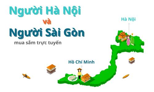 Người Hà Nội vs người Sài Gòn: Thói quen mua sắm trực tuyến