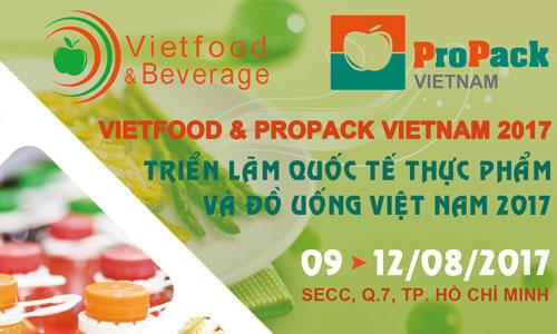 Triển lãm Quốc tế Thực phẩm và Đồ uống Việt Nam 2017