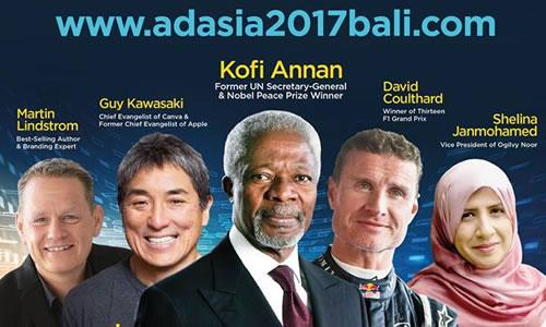 Chương trình Đại hội AdAsia Bali 2017