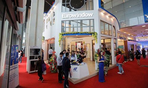Eurowindow – Dấu ấn thương hiệu số 1 về cửa tại Triển lãm Vietbuild 2018