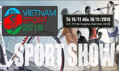 Triển lãm Quốc tế Sản phẩm Thể thao Việt Nam 2018