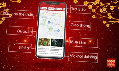 Phát triển App 9999 Tết thành dự án phi lợi nhuận 9999 Việt Nam