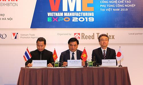 Triển lãm Công nghiệp hỗ trợ Việt Nam - Nhật Bản 2019