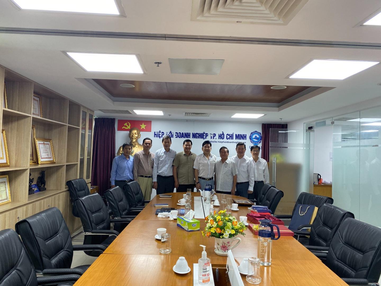 Tin ảnh ngày 12/5, Buổi làm việc của HHQCVN cùng với Hiệp hội Doanh nghiệp TP.Hồ Chí Minh