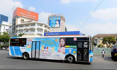 Tất tần tật về quảng cáo trên xe Bus