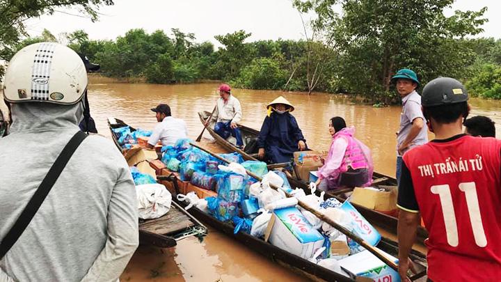 Thư ngỏ Vận động quyên góp cứu trợ đồng bào miền Trung bị thiệt hại do bão, lũ