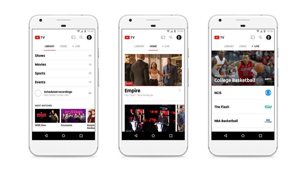 YouTube ra mắt dịch vụ truyền hình trả tiền, phí 35 USD/tháng