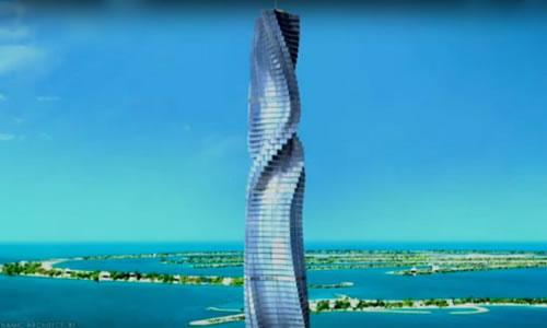 Dubai xây tòa nhà xoay 360 độ