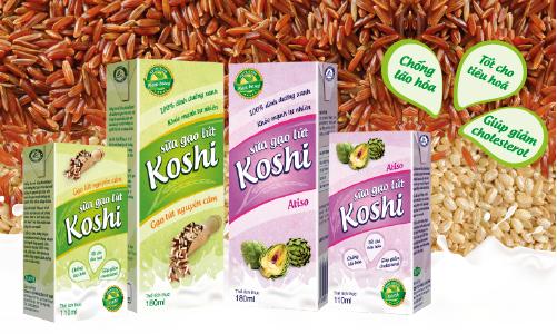 """Sữa gạo lứt Koshi – Từ """"dinh dưỡng xanh"""" đến """"nhà máy xanh"""""""