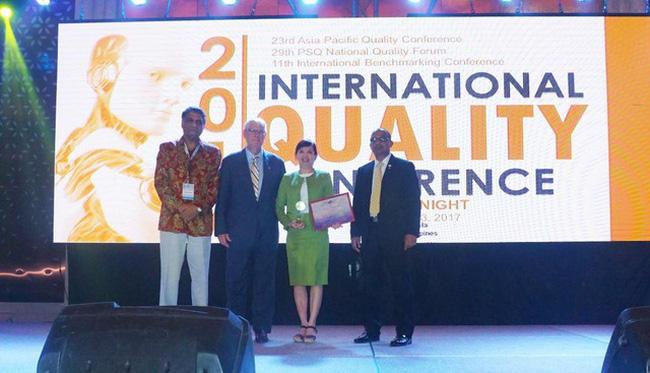Thương hiệu bất động sản công nghiệp Việt lọt top giải thưởng chất lượng quốc tế