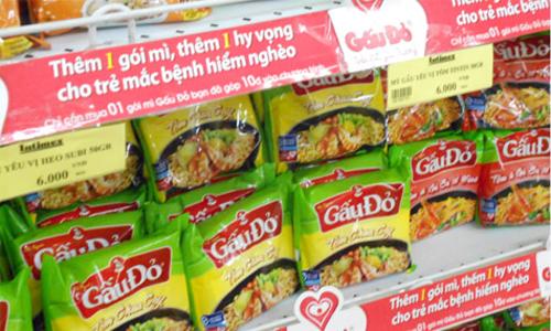 Mỳ Gấu Đỏ và câu chuyện văn hóa trong quảng cáo