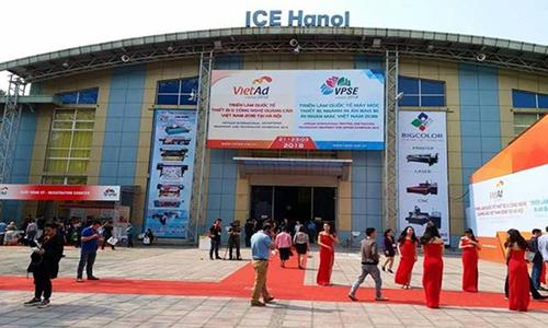 Khai mạc triển lãm thiết bị và công nghệ quảng cáo Việt Nam 2018