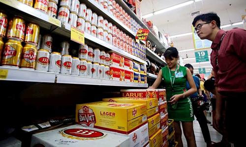 Cạnh tranh sôi động giành thị phần bia Việt Nam