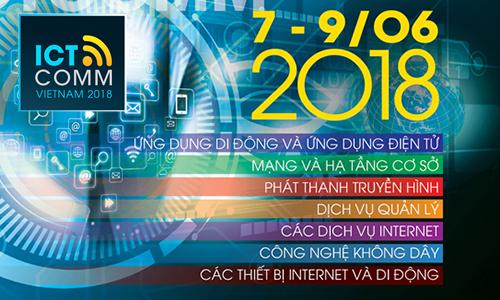 Triển lãm Vietnam ICTCOMM 2018