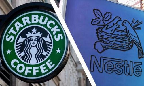 Nestle đạt được thỏa thuận bán cà phê của thương hiệu Starbucks
