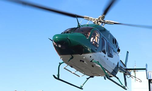 Dịch vụ đi chung trực thăng tránh tắc đường ở Philippines