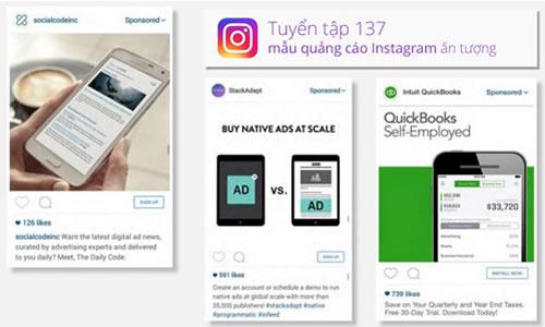 Tuyển tập 137 mẫu quảng cáo Instagram ấn tượng