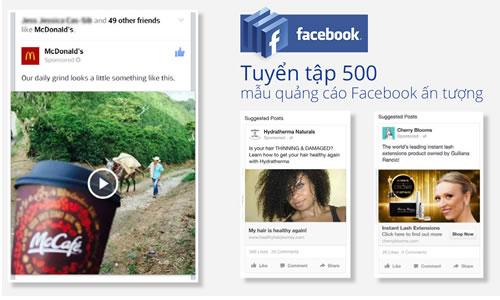 Tuyển tập 500 mẫu quảng cáo Facebook ấn tượng