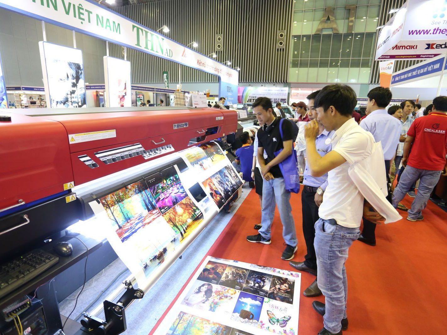 Triển lãm quốc tế thiết bị và công nghệ quảng cáo việt nam...