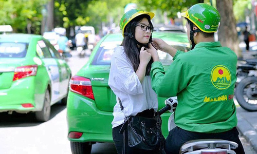 DN Việt đua nhau cạnh tranh với Grab