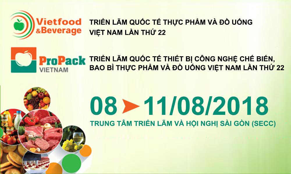 Triển lãm Quốc tế Thực phẩm và Đồ uống Việt Nam 2018