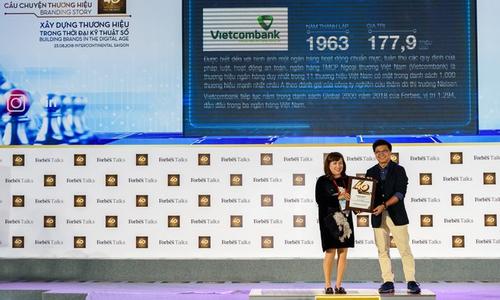 Vietcombank nhận giải thưởng thương hiệu ngân hàng có giá trị nhất tại Việt Nam