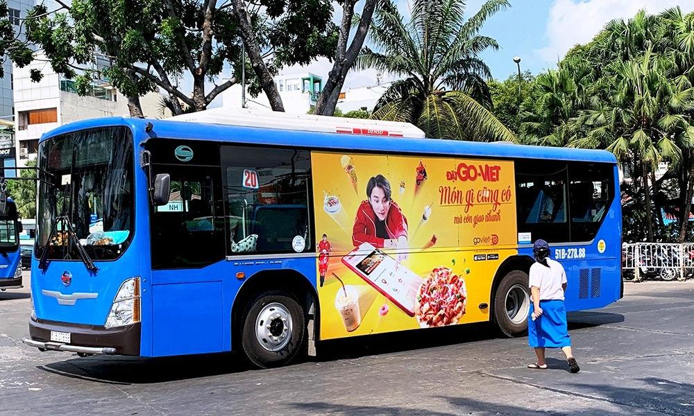 Vì sao quảng cáo trên xe buýt TP HCM ế khách?