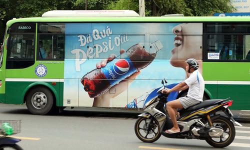 TP.HCM tiếp tục đấu giá quảng cáo trên xe buýt