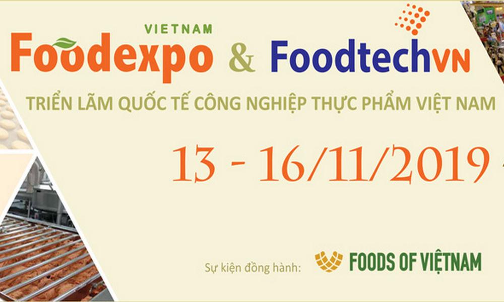 Triển lãm Quốc tế Công nghiệp Thực phẩm Việt Nam 2019