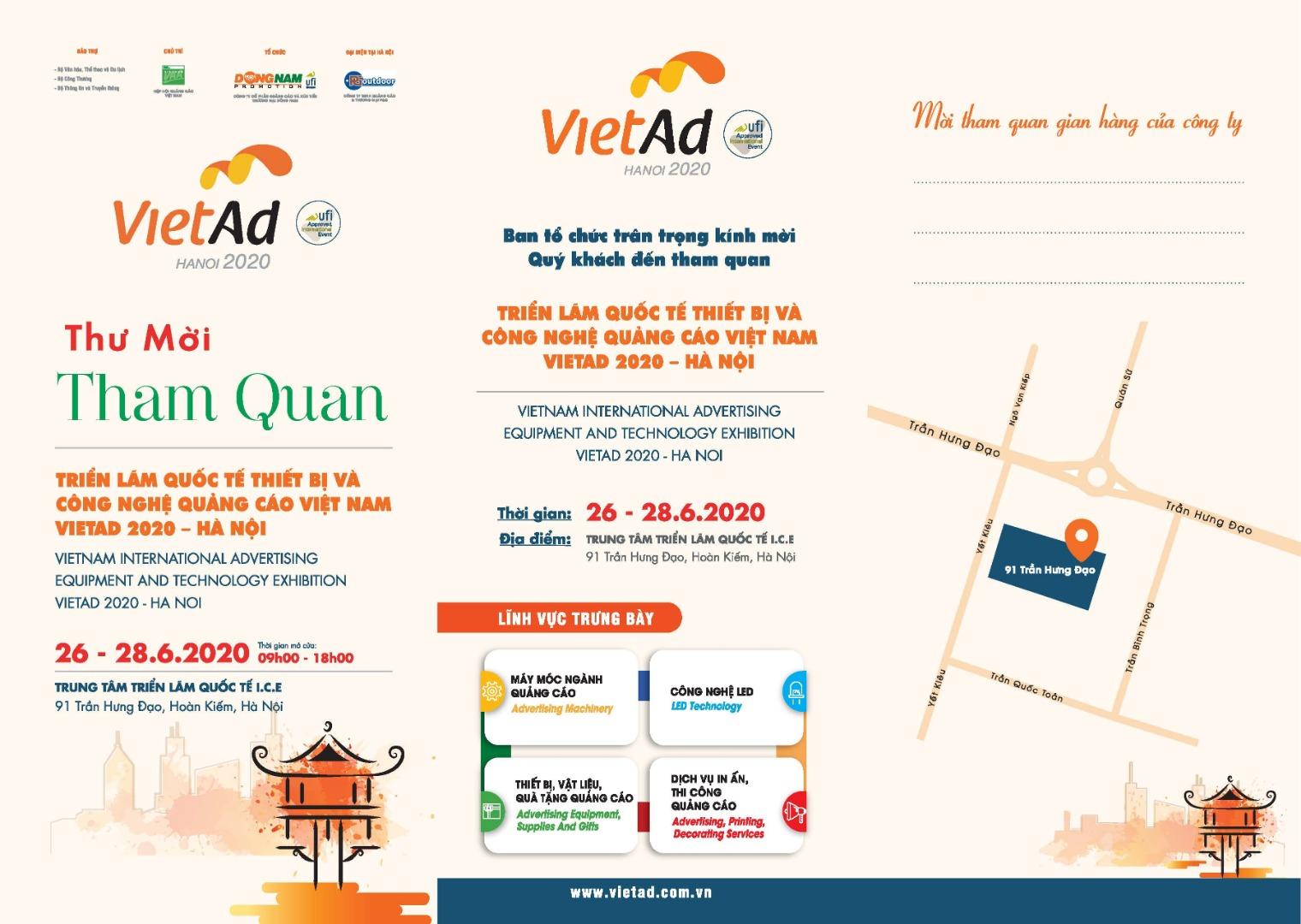 Triển lãm Vietad 2020 Hà Nội