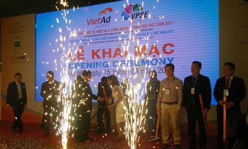 Lần đầu tổ chức triển lãm thiết bị ngành in cùng thiết bị, công nghệ quảng cáo Việt Nam