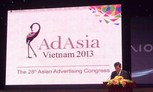 Gioi thieu chuong trinh dai hoi quang cao Chau A AdAsia 2013