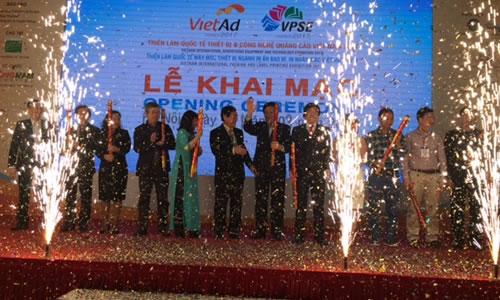 Hiep hoi Quang cao Viet Nam to chuc Trien lam quoc te Thiet bi va cong nghe quang cao VN nam 2017