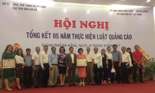 Hiep hoi Quang cao Viet Nam du Hoi nghi Tong ket 5 nam Luat Quang cao