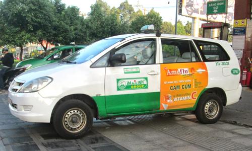 Quy định khi quảng cáo trên phương tiện giao thông